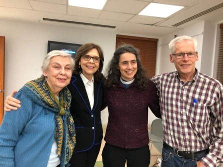 Betty Reardon, HY, Chloe Breyer, David Vassar